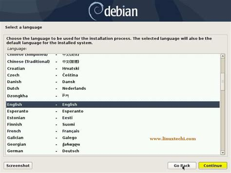 Debian 10 (Buster) Installation Steps with Screenshots