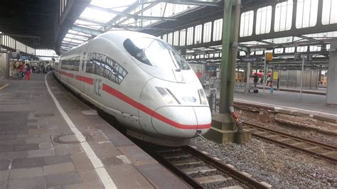 NS ICE 3M (BR 406) in Duisburg Hbf - YouTube