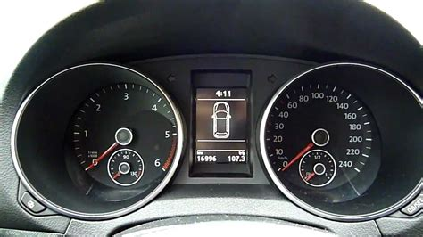 check compteur golf 6 tdi 140 AM2012 - YouTube