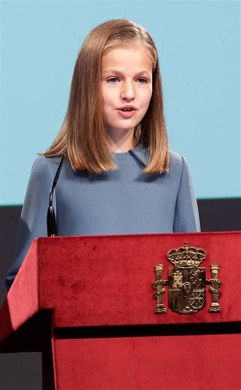 Spain's Princess Leonor, 13, Gives Her First Royal Speech