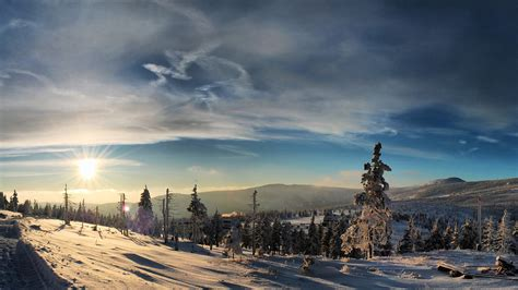 Winter Evening Wallpapers   HD Wallpapers   ID #12278