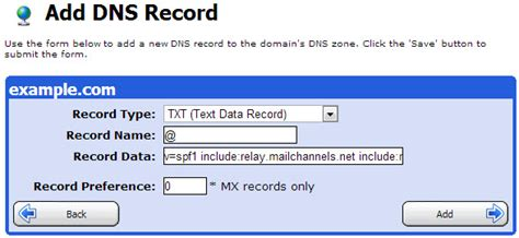 MailChannels: SPF Records - Applied Innovations Public