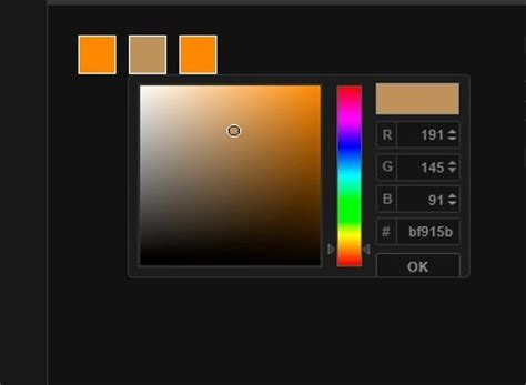 Lightweight jQuery Color Picker For Web App - Colpick