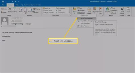 Methods to Recall an Email in Outlook, Gmail, Yahoo!