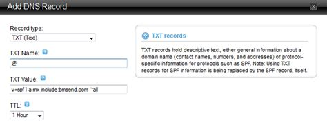 How does one add a TXT Record for their Domain (having DNS