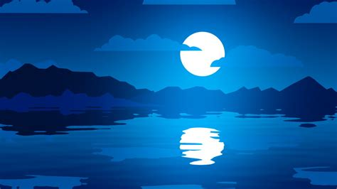 Moon Reflections Wallpapers   HD Wallpapers   ID #27822