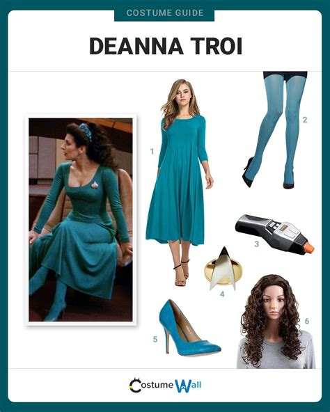 Dress Like Deanna Troi Costume   Halloween and Cosplay Guides