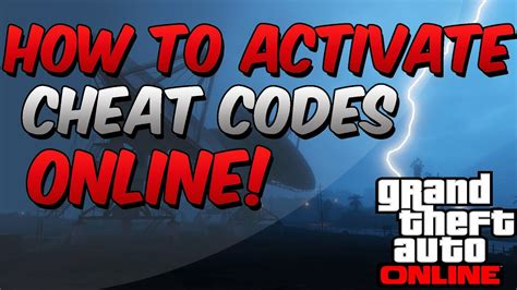 GTA V Online: How To Activate Cheat Codes Online! (PATCHED