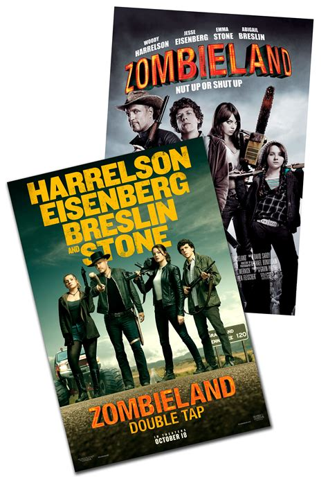 Zombieland Double Tap Double Feature at an AMC Theatre