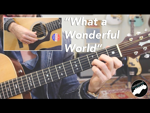 """""""What a Wonderful World"""" by Louis Armstrong 