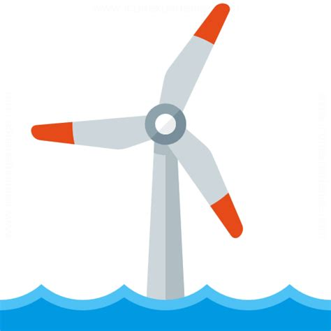 IconExperience » G-Collection » Wind Engine Offshore Icon