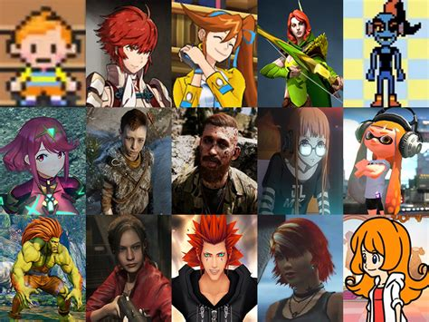 Click the Video Game Redhead Quiz - By sharktoother140